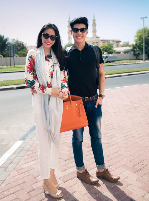 Thủy Tiên, Noo Phước Thịnh thích thú du ngoạn Dubai - 2