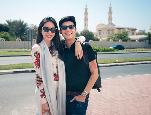 Thủy Tiên, Noo Phước Thịnh thích thú du ngoạn Dubai - 1