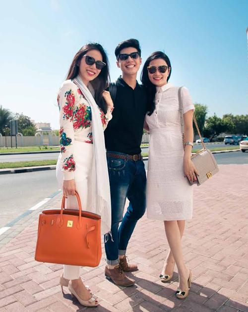 Thủy Tiên, Noo Phước Thịnh thích thú du ngoạn Dubai - 3