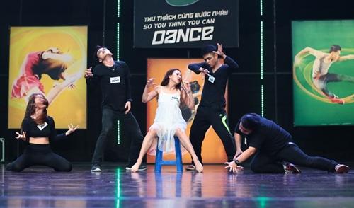 ST của nhóm 365 bất ngờ bị loại khỏi cuộc thi nhảy - 9