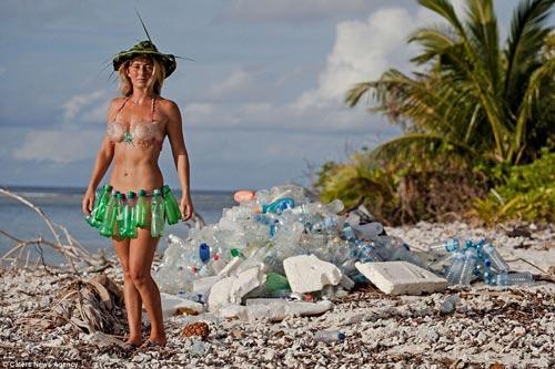 Đảo rác khổng lồ phía sau thiên đường biển Maldives - 6