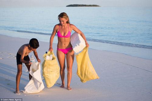 Đảo rác khổng lồ phía sau thiên đường biển Maldives - 10