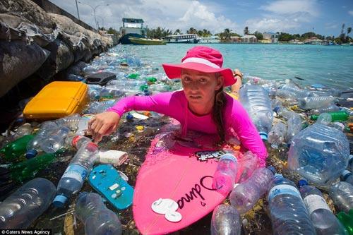 Đảo rác khổng lồ phía sau thiên đường biển Maldives - 2