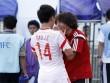 Hòa được U19 Việt Nam, U19 Trung Quốc khóc nức nở
