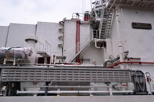 Cận cảnh tàu kiểm soát ô nhiễm của Ấn Độ tại Việt Nam - 4