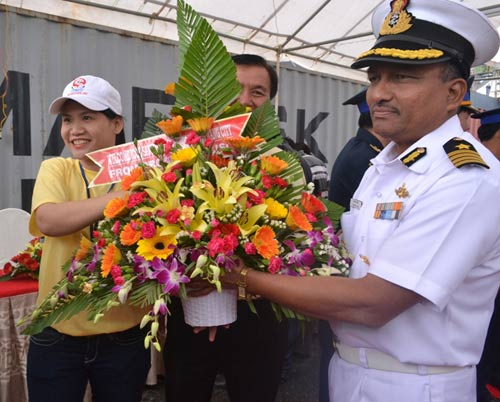 Cận cảnh tàu kiểm soát ô nhiễm của Ấn Độ tại Việt Nam - 2