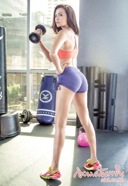 Mê mải ngắm mỹ nữ mê thể thao đẹp nhất Thái Lan - 11