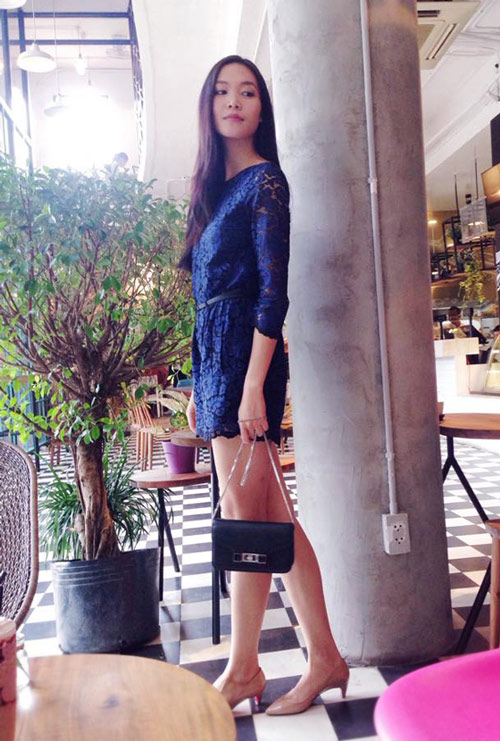 Gam xanh phủ sóng thời trang xuống phố của sao Việt - 6