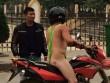 """""""Anh Tây"""" mặc bikini dây đi phượt ở Hà Giang"""