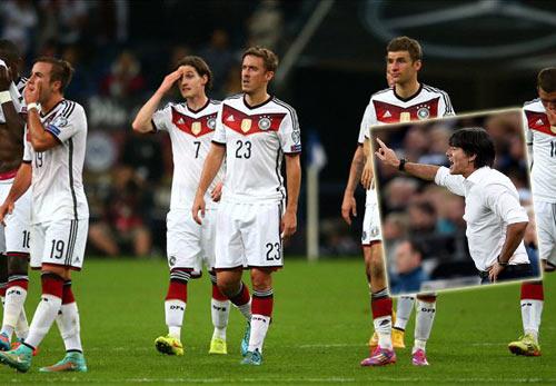 """Đức đánh rơi chiến thắng, HLV Loew """"nổi đóa"""" - 1"""