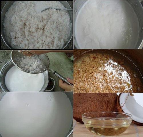 3 bước làm dầu dừa nguyên chất - 2