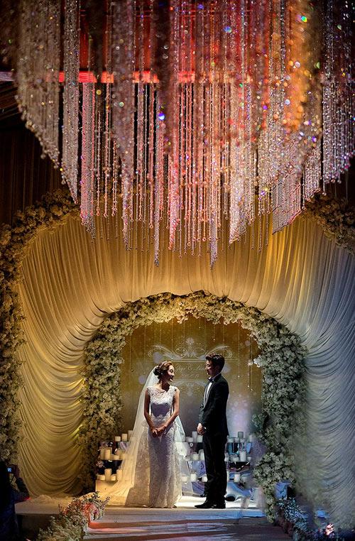Những khoảnh khắc đẹp trong hôn lễ lần 2 của Chae Rim - 17