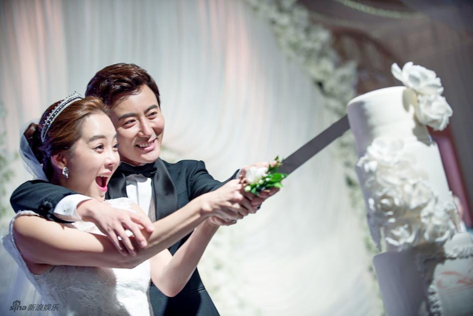 Những khoảnh khắc đẹp trong hôn lễ lần 2 của Chae Rim - 2