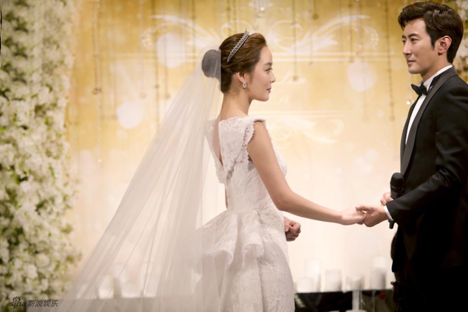 Những khoảnh khắc đẹp trong hôn lễ lần 2 của Chae Rim - 11