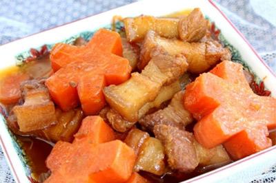 Ngon xuýt xoa thịt ba chỉ kho cà rốt - 8