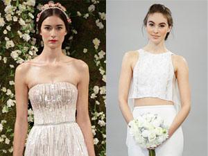 Những mẫu váy cưới 2015 đẹp tới nao lòng