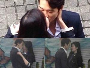 """Lưu Diệc Phi """"khóa môi"""" ngọt ngào với Song Seung Hun"""