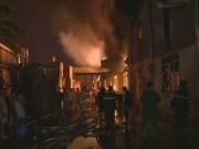Hà Nội: Một đêm, hai vụ cháy lớn