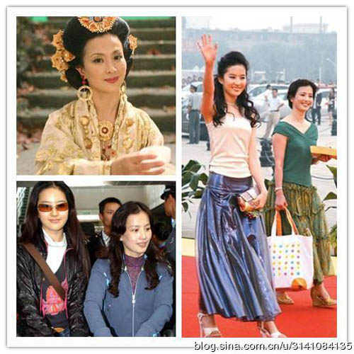 10 cặp mẹ con Hoa ngữ