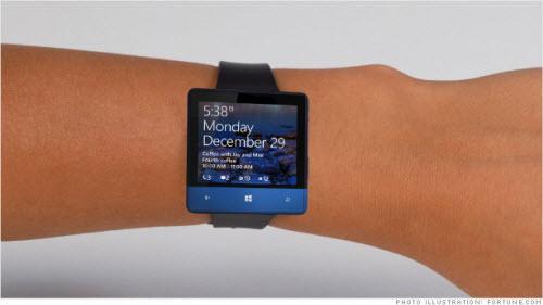 Microsoft sắp trình làng đồng hồ thông minh pin 2 ngày - 1