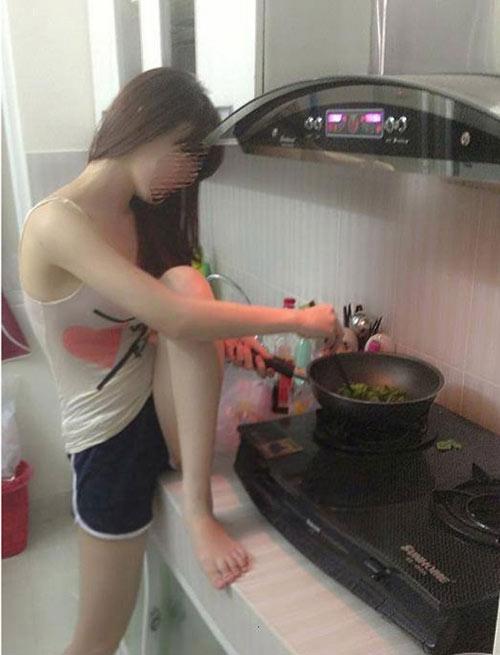 """Khi các chị em vào bếp """"trổ tài"""" - 3"""