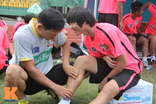 Cầu thủ U19 VN xung trận giải U21: Thanh Hậu dự bị - 2