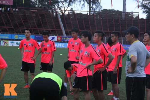 Cầu thủ U19 VN xung trận giải U21: Thanh Hậu dự bị - 3