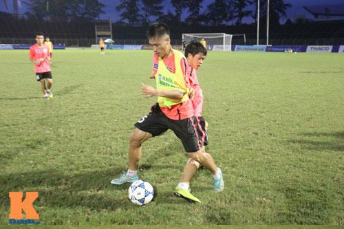 Cầu thủ U19 VN xung trận giải U21: Thanh Hậu dự bị - 1