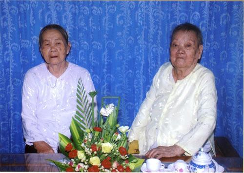 Hai chị em ruột cao tuổi nhất Việt Nam - 1