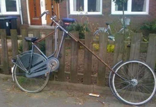 Siêu xe đạp cổ dài