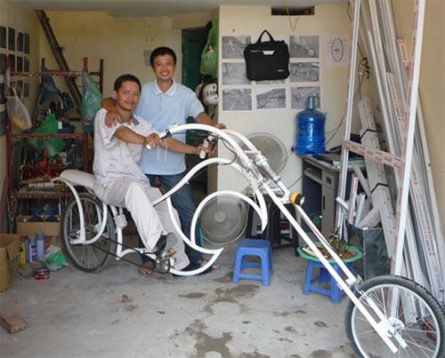 Cười đau bụng với xe đạp dài ngoằng kì dị - 4