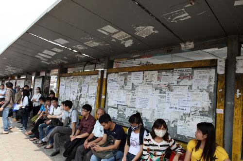 Ảnh: Trạm xe buýt lớn nhất Thủ đô trước ngày bị dỡ bỏ - 1