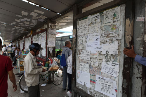 Ảnh: Trạm xe buýt lớn nhất Thủ đô trước ngày bị dỡ bỏ - 7