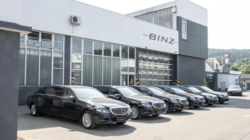 Mercedes-Benz E-Class độ 6 cửa sang trọng - 4