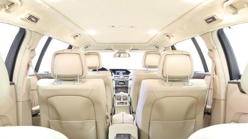Mercedes-Benz E-Class độ 6 cửa sang trọng - 8