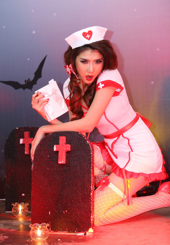 3 kiểu hóa trang Halloween được sao Việt yêu thích - 2