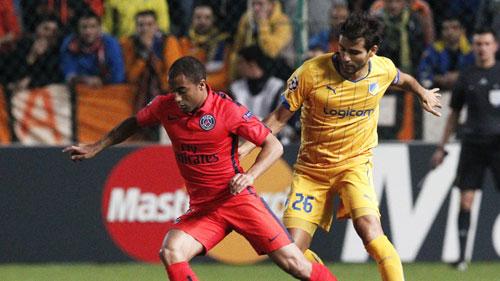 APOEL - PSG: Chiến quả muộn màng - 1