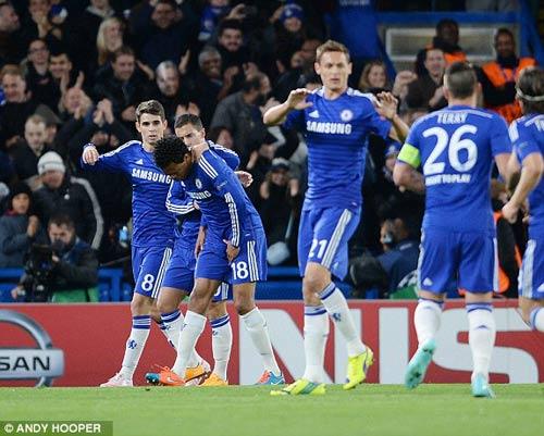 Chelsea - Maribor: Đánh tennis ở Stamford Bridge - 1