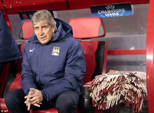 """Man City bị cầm hòa, Pellegrini """"đổ lỗi"""" vì thời tiết - 1"""