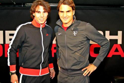 Nadal chưa bao giờ coi Federer là bạn - 1