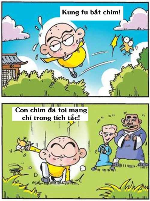 Thiếu Lâm hài: Kung fu bắt chim - 1