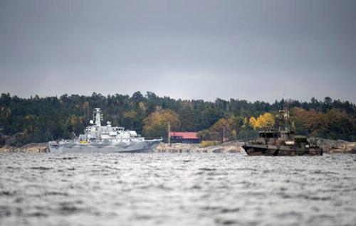 """Thụy Điển lại phát hiện thêm dấu vết """"tàu ngầm lạ"""" - 1"""