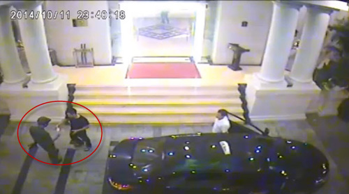 Triệu tập người rút thẻ trong video hỗn chiến ở khách sạn - 1
