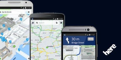 Bản đồ Here Maps đã cho phép cài đặt trên Android - 1