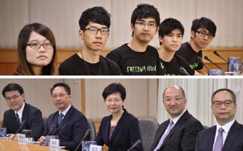 Biểu tình Hong Kong: Đàm phán rơi vào bế tắc - 1