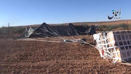 Vũ khí tiếp tế Mỹ rơi vào tay IS ở thị trấn Kobani - 1