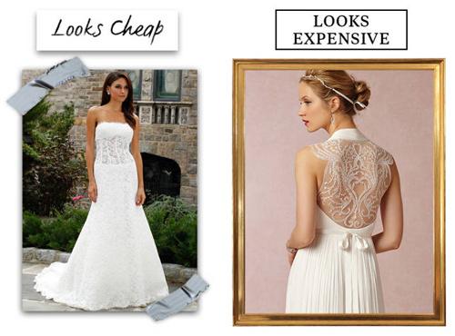 9 lý do khiến chiếc váy cưới của bạn có vẻ rẻ tiền - 2
