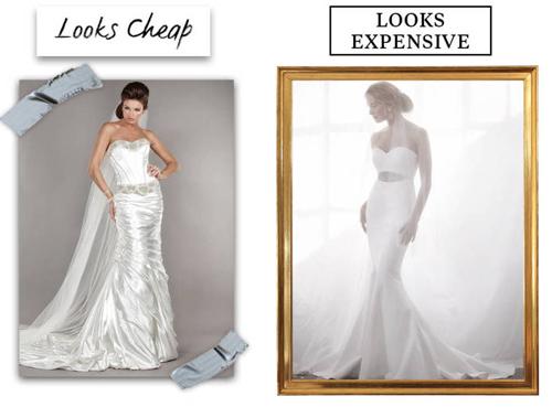 9 lý do khiến chiếc váy cưới của bạn có vẻ rẻ tiền - 3