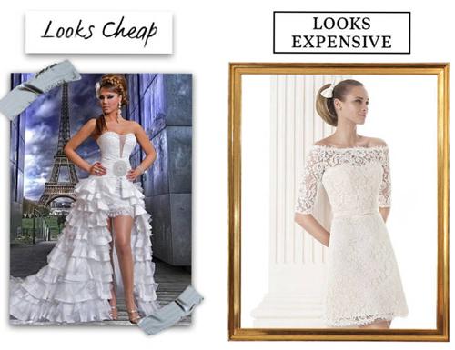 9 lý do khiến chiếc váy cưới của bạn có vẻ rẻ tiền - 8