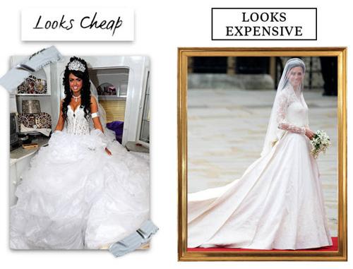 9 lý do khiến chiếc váy cưới của bạn có vẻ rẻ tiền - 9